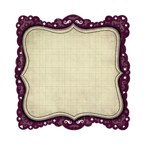We R Memory Keepers - Heebie Jeebies Collection - Halloween - 12 x 12 Die Cut Paper - Ghostly, CLEARANCE