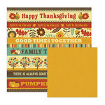 We R Memory Keepers - Maple Grove Collection - 12 x 12 Double Sided Paper - Hawthorne