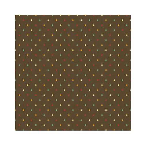 We R Memory Keepers - Maple Grove Collection - 12 x 12 Foiled Paper - Walnut