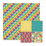 We R Memory Keepers - Funfetti Collection - 12 x 12 Double Sided Paper - Confetti, CLEARANCE