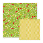 We R Memory Keepers - White Christmas Collection - 12 x 12 Double Sided Paper - Winter Mittens
