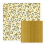 We R Memory Keepers - Merry January Collection - 12 x 12 Double Sided Paper - Twig, CLEARANCE