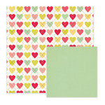 We R Memory Keepers - Be My Valentine Collection - 12 x 12 Double Sided Paper - Dearest