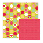 We R Memory Keepers - Be My Valentine Collection - 12 x 12 Double Sided Paper - Sweethearts