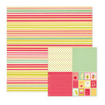We R Memory Keepers - Be My Valentine Collection - 12 x 12 Double Sided Paper - Together