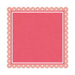 We R Memory Keepers - Be My Valentine Collection - 12 x 12 Die Cut Paper - Hugs and Kisses
