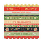 We R Memory Keepers - Family Keepsake Collection - 12 x 12 Die Cut Paper - Caroline