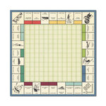 We R Memory Keepers - Travel Light Collection - 12 x 12 Paper with Foil Accents - Game Board