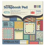 We R Memory Keepers - Travel Light Collection - 12 x 12 Designer Scrapbook Pad with Foil Accents