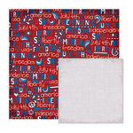 We R Memory Keepers - Yankee Doodles Collection - 12 x 12 Double Sided Paper - Word Doodle