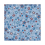 We R Memory Keepers - Yankee Doodles Collection - 12 x 12 Glitter Paper - Star Doodle