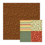 We R Memory Keepers - Friends Furever Collection - 12 x 12 Double Sided Paper - Making Tracks