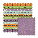 We R Memory Keepers - Spookville Collection - Halloween - 12 x 12 Die Cut Paper - Monster Mash