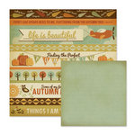 We R Memory Keepers - Autumn Splendor Collection - 12 x 12 Double Sided Paper - Autumn