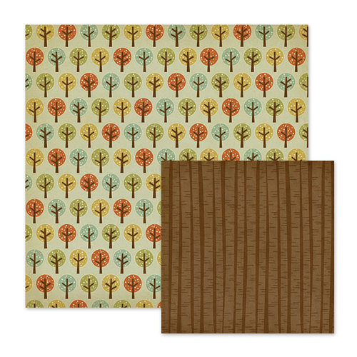 We R Memory Keepers - Autumn Splendor Collection - 12 x 12 Double Sided Paper - Orchard