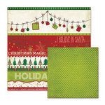 We R Memory Keepers - Peppermint Twist Collection - Christmas - 12 x 12 Double Sided Paper - Holiday Spirit
