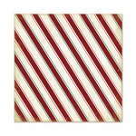 We R Memory Keepers - Peppermint Twist Collection - Christmas - 12 x 12 Glitter Paper - Candy Cane