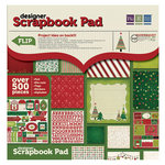 We R Memory Keepers - Peppermint Twist Collection - Christmas - 12 x 12 Designer Scrapbook Pad
