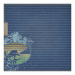 We R Memory Keepers - Vintage T Collection - 12 x 12 Foil Paper - Beach Bum