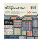 We R Memory Keepers - Vintage T Collection - 12 x 12 Designer Scrapbook Pad