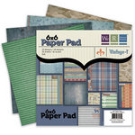 We R Memory Keepers - Vintage T Collection - 6 x 6 Scrapbook Pad