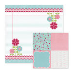 We R Memory Keepers - Love Struck Collection - 12 x 12 Double Sided Paper - Love Notes
