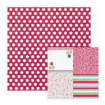 We R Memory Keepers - Love Struck Collection - 12 x 12 Double Sided Paper - Smitten