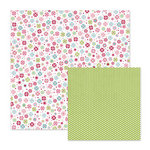 We R Memory Keepers - Love Struck Collection - 12 x 12 Double Sided Paper - Cutie Pie