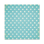 We R Memory Keepers - Cotton Tail Collection - 12 x 12 Glitter Paper - Polka Dots