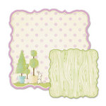 We R Memory Keepers - Cotton Tail Collection - 12 x 12 Double Sided Die Cut Paper - English Garden