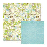 We R Memory Keepers - Cotton Tail Collection - 12 x 12 Double Sided Paper - In The Meadow
