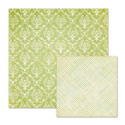 We R Memory Keepers - Cotton Tail Collection - 12 x 12 Double Sided Paper - Thicket