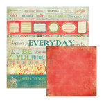 We R Memory Keepers - Anthologie Collection - 12 x 12 Double Sided Paper - Everyday Moments