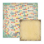 We R Memory Keepers - Down the Boardwalk Collection - 12 x 12 Double Sided Paper - Beachball