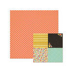 We R Memory Keepers - Love 2 Craft Collection - 12 x 12 Double Sided Paper - Polkadots
