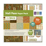 We R Memory Keepers - Hall Pass Collection - 12 x 12 Paper Pack