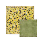 We R Memory Keepers - Antique Chic Collection - 12 x 12 Double Sided Paper - Evelyn