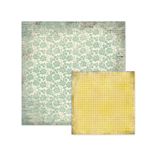 We R Memory Keepers - Antique Chic Collection - 12 x 12 Double Sided Paper - Eleanor