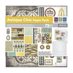 We R Memory Keepers - Antique Chic Collection - 12 x 12 Stack Pack