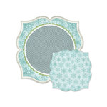 We R Memory Keepers - Winter Frost Collection - 12 x 12 Double Sided Die Cut Paper - Blustery