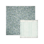 We R Memory Keepers - Winter Frost Collection - 12 x 12 Double Sided Paper - Snow Flurries