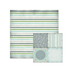 We R Memory Keepers - Winter Frost Collection - 12 x 12 Double Sided Paper - Toboggan