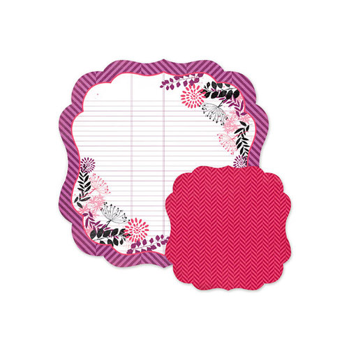 We R Memory Keepers - Crazy For You Collection - 12 x 12 Double Sided Die Cut Paper - Bouquet