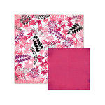 We R Memory Keepers - Crazy For You Collection - 12 x 12 Double Sided Paper - Petals