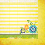 We R Memory Keepers - Feelin' Groovy Collection - 12 x 12 Double Sided Paper - Journal
