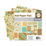 We R Memory Keepers - Happy Campers Collection - 6 x 6 Paper Pad