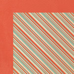 We R Memory Keepers - Country Livin' Collection - 12 x 12 Double Sided Paper - Patriotic Stripe