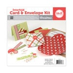 We R Memory Keepers - Interfold Card and Envelope Kit - Christmas
