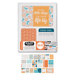 We R Memory Keepers - Albums Made Easy - Journaling Cards - Tangerine