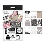 We R Memory Keepers - Albums Made Easy - Die Cut Cards and Envelopes - Blackboard